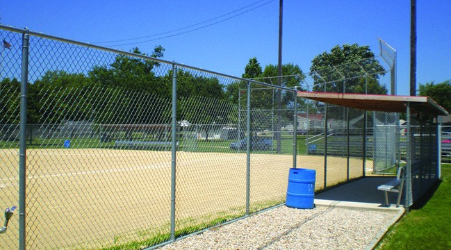 Grand Mound Baseball Diamond