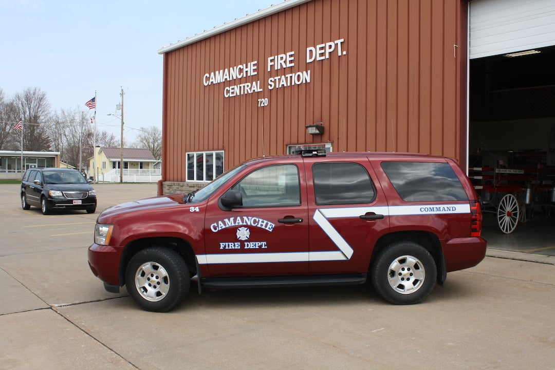 Camanche Fire Command Vehicle